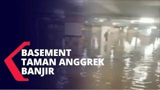 Parkir Basement Mal Taman Anggrek Terendam Banjir