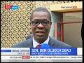 watch he video of MPs mourn the death of Senator Ben Oluoch Okello