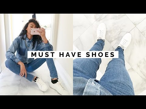 10 SHOES EVERY GIRL MUST HAVE!! | WARDROBE BASICS