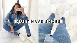10 SHOES EVERY GIRL MUST HAVE!! | WARDROBE BASICS #2