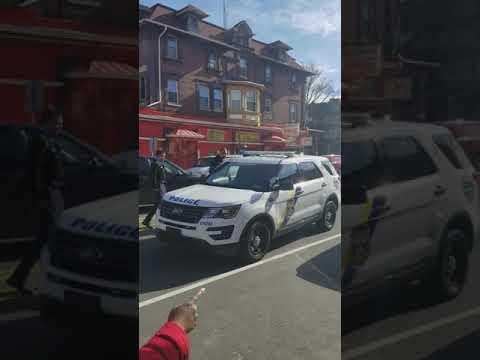 Philadelphia Police practicing Stop and Frisk in West Philadelphia.