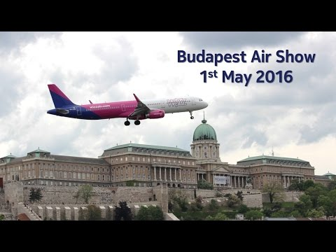 Budapest Air Show 1st May 2016 - Europe Vlog # 4