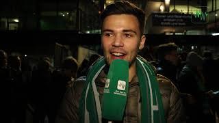 Das sagen die Werder-Fans zum Gladbach-Spiel
