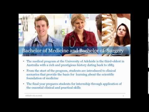 Discover your future in Medicine | The University of Adelaid