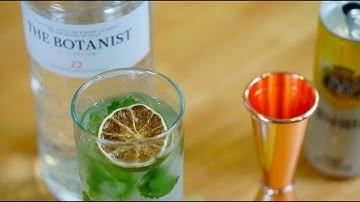 진토닉 Gin Tonic : 22가지 허브가 들어간 프리미엄 진 보타니스트 | Sooljjan 술짠
