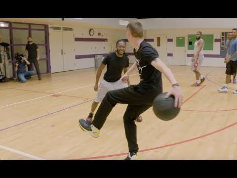 The Professor and Mosquito hooping in Atlanta ... What is the definition of Streetball ATL?