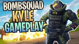 FORTNITE - New BOMBSQUAD KYLE Constructor Save The World Gameplay