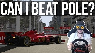 Can I Beat The Formula 1 Baku GP Pole Time?