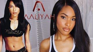 Aaliyah MAC Makeup Collection Tutorial