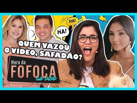 ?#HoraDaFofoca | QUEM VAZOU O VÍDEO E EXPÔS O YHUDY, SAFADÃO? | WebTVBrasileira thumbnail