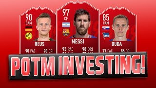 FIFA 19 POTM INVESTMENTS (NEW POTM SBC!) | TRADING TO GLORY #20 | FIFA 19 ULTIMATE TEAM