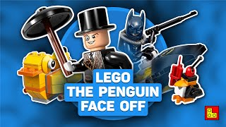◉ LEGO DC Super Heroes Batman   The Penguin Face off stop motion build review┃Обзор ЛЕГО 76010