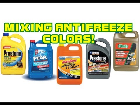 ⭐ Can You Mix Antifreeze Colors? THE REAL TRUTH!