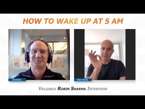 How To Wake Up At 5 AM | Valuable Robin Sharma Interview