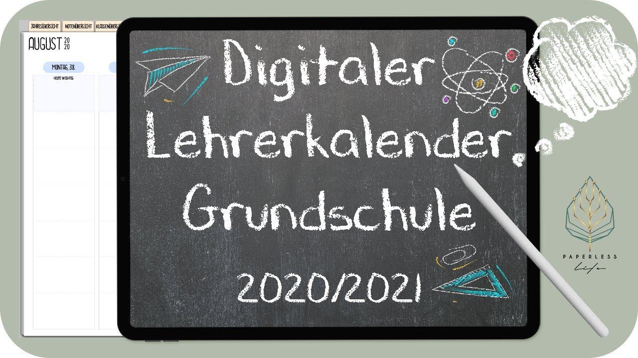 Lehrerkalender Digital 20/20 Grundschule