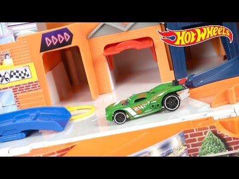 Hot Wheels Sto Go From Mattel Youtube