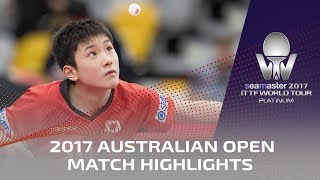 2017 Australian Open Highlights | Tomokazu Harimoto vs Lin Jonghoon (R32) thumbnail