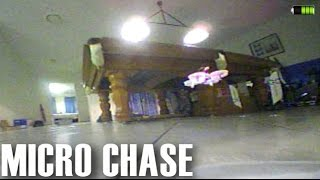 Tiny Whoop Inductrix Chase Flight Indoors
