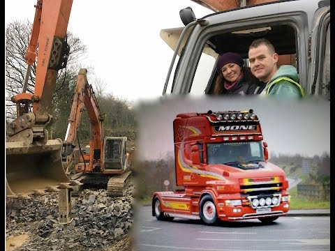 Marty Mone TG4  Driving Trucks And Diggers