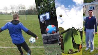 FOOTBALL vs FIFA 17 *WORLD RECORD EDITION*