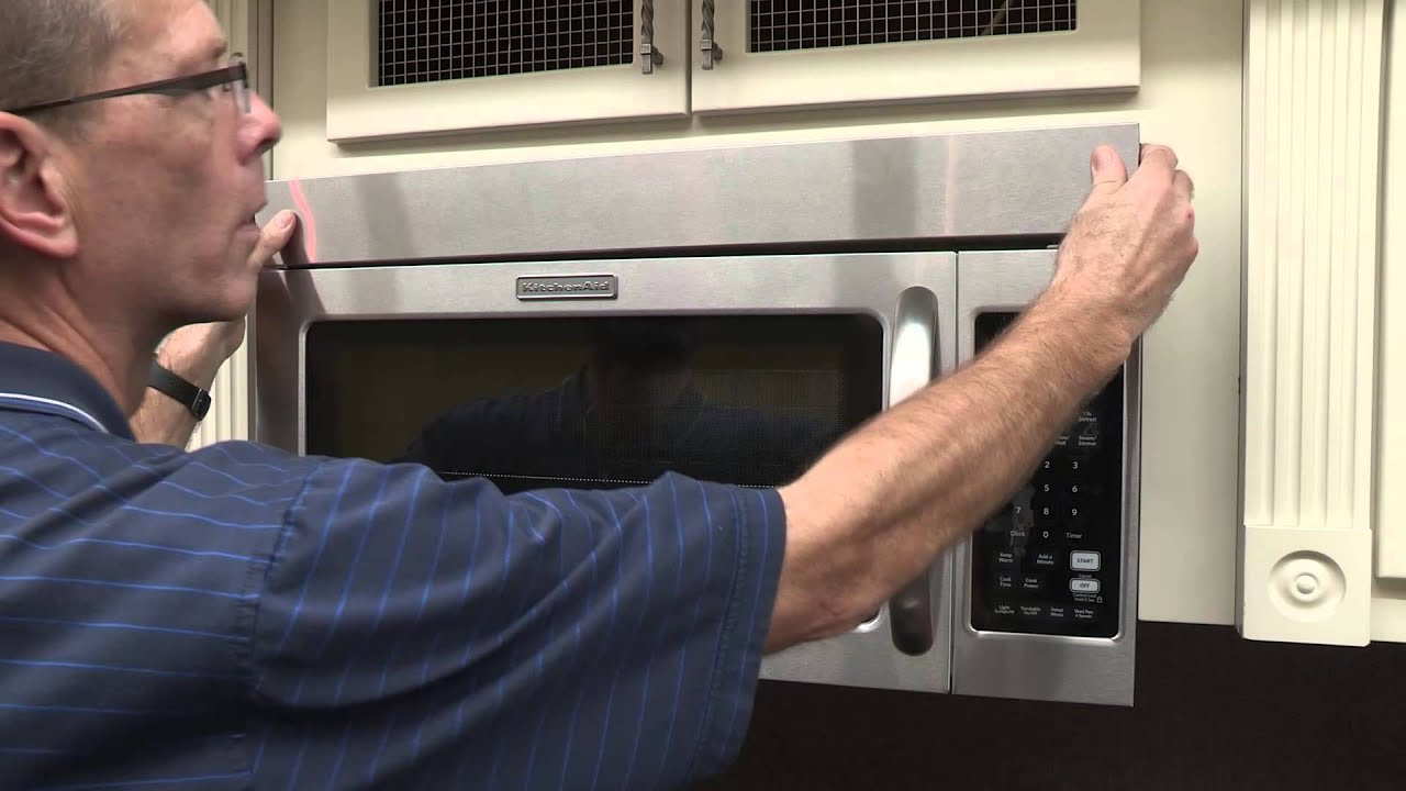 Replacing The Microwave Charcoal Filter