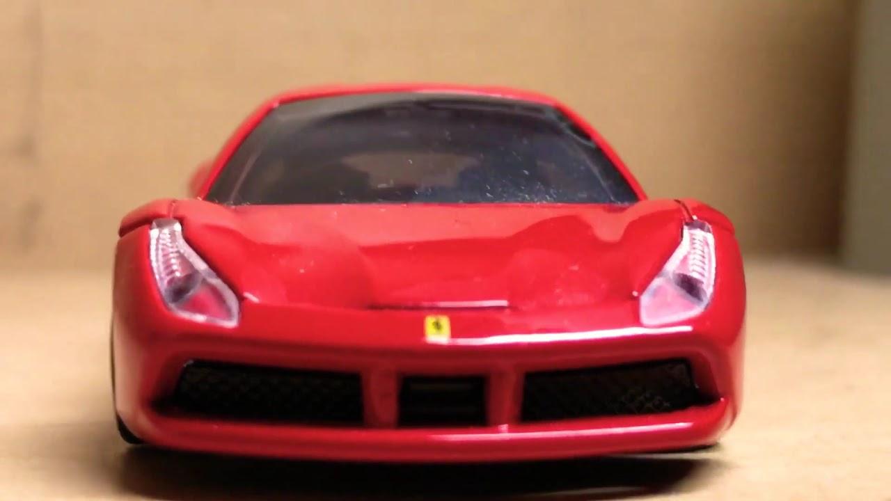 スマホでミニカーを撮ってみた Part4 フェラーリ 4 Youtube