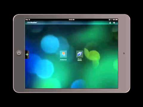 How To Refresh Citrix Apps - iPhone and iPad