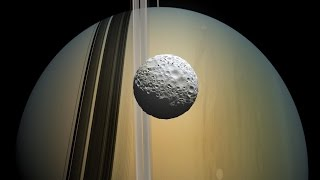 What Would Standing on Smallest Round Moon Mimas Feel Like?