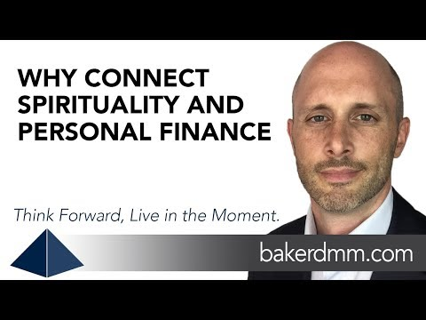 Why Connect Spirituality and Finance
