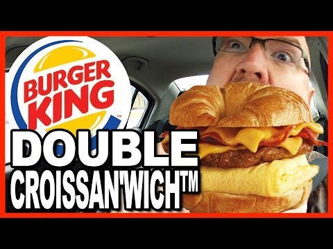 Burger King DOUBLE CROISSAN