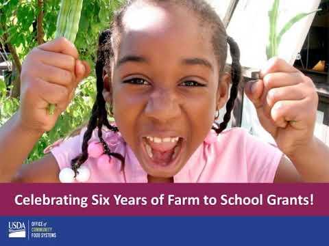 FY 19 Farm to School RFA Webinar: Submitting a Grant Application