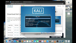 How to Install Kali Linux on a Mac Book Pro.