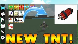 *NEW* TNT UPDATE! | Building Simulator ROBLOX