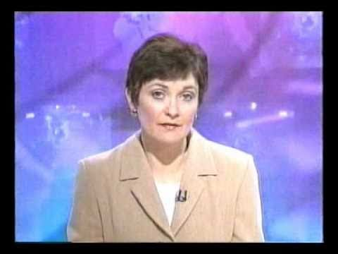 The very First RTE Television News Bulletin of 21st Century, 1st January 2000