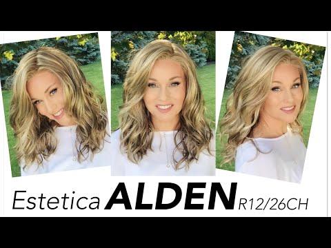 Estetica ALDEN Wig Review | R12/26CH | Compare And Style!!