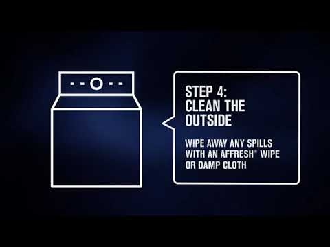 How to Clean Your Washing Machine with MaytagⓇ