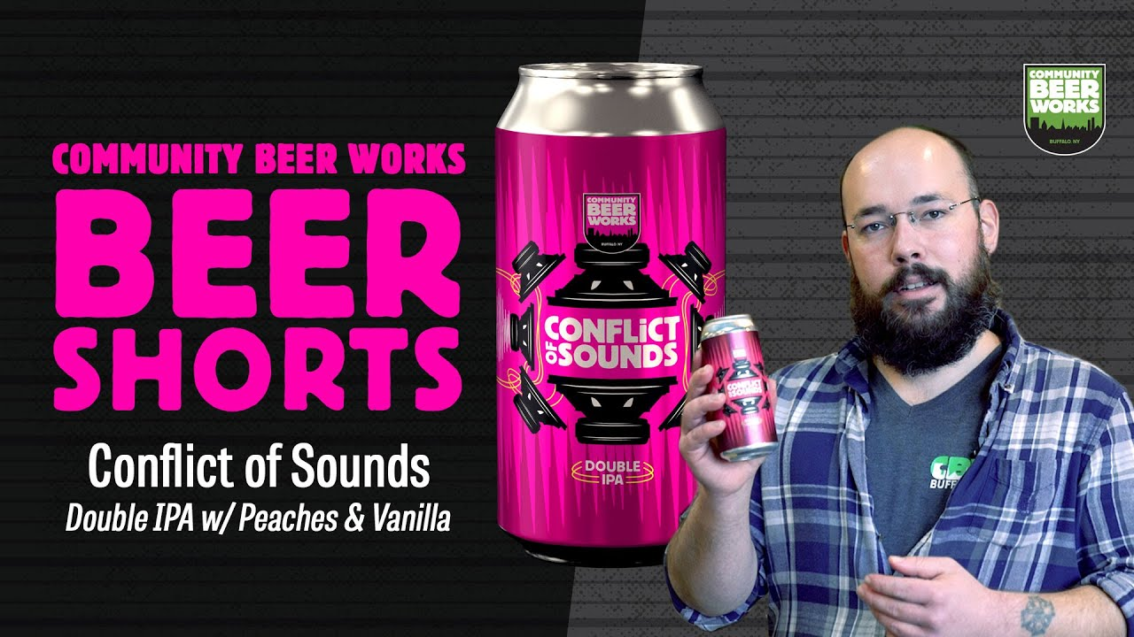 Collaboration: Community Beer Works Conflict of Sounds
