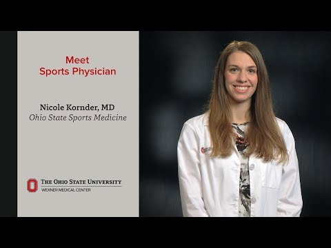 Meet Sports Physician Dr. Nicole Kornder | Ohio State Sports Medicine