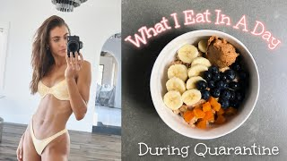 What I Eat In A Day - Quarantine | How I'm Staying Healthy | Sami Clarke #WithMe
