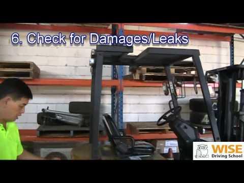 Forklift Training Course - Parking & Shut Down