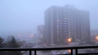 HORRIFIC FOG SOUND COMING FROM THE SKY