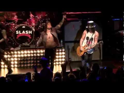 Slash Live from New York - Sweet Child O'mine (2012)