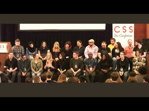 Wrap-Up Panel at CSS Dev Conf 2015