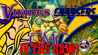 Vikings vs Chargers - GMG In The Raw!