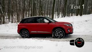 Suzuki Vitara S Turbo 4x4 winter test - AUTO SPORT SNOW LOCK modes