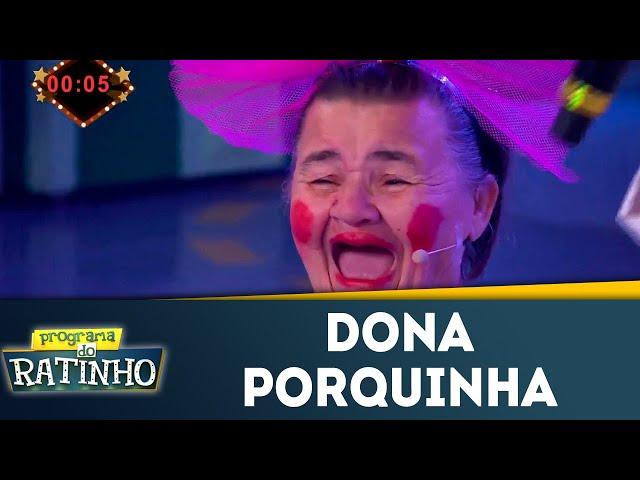 Dona Porquinha no Dez ou Mil | Programa do Ratinho (24/072018)
