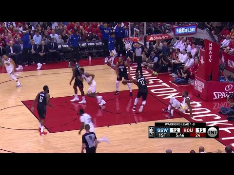 1st Quarter, One Box Video: Houston Rockets vs. Golden State Warriors