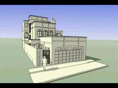 Planos de casas modelo san jose 127 arquimex planos de for Planos de casas youtube