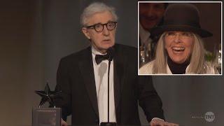 Woody Allen Roasts Diane Keaton as She Receives Lifetime Achievement Award thumbnail