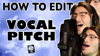 How to PITCH SHIFT in Logic Pro X (EASY)